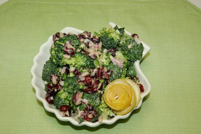 Broccoli Salad Capt'n Chucky's